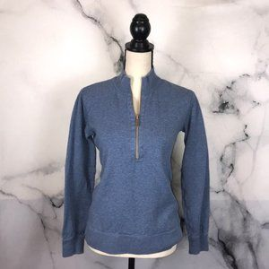 Tommy Bahama blue half zip pullover size xs